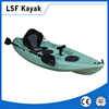 single sit on top plastic canoe kayak fishing
