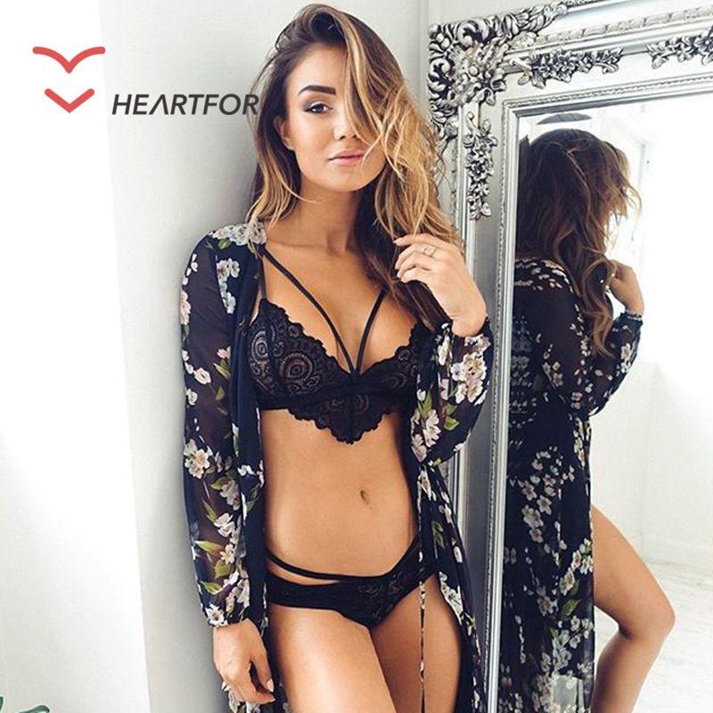 Aus Dem Ausland Importiert 2016 Neue Heiße Frankreich Marke Frauen Sexy Spitze Tiefen V Charming Bh Sets Mädchen Bh Set Unterwäsche-sets Bh Damen-dessous Höschen
