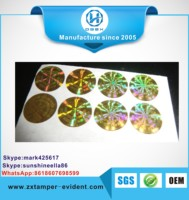 Best price of hologram holographic laser paper ticket