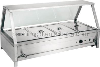 Perfect Stainless Steel Buffet Corner/buffet Table