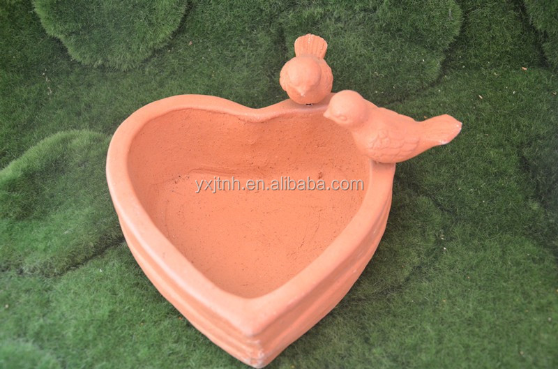 Heart Shape Ceramic Flowerpot Vase Clay Garden Flower Pot Buy