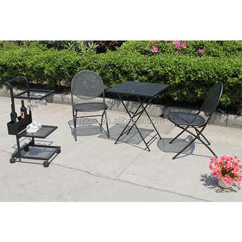 Magnificent Outdoor Metal Folding Bistro Set With Cart Buy Cheap Bistro Set Folding Metal Bistro Table Chair Set Indoor Bistro Sets Product On Alibaba Com Bralicious Painted Fabric Chair Ideas Braliciousco