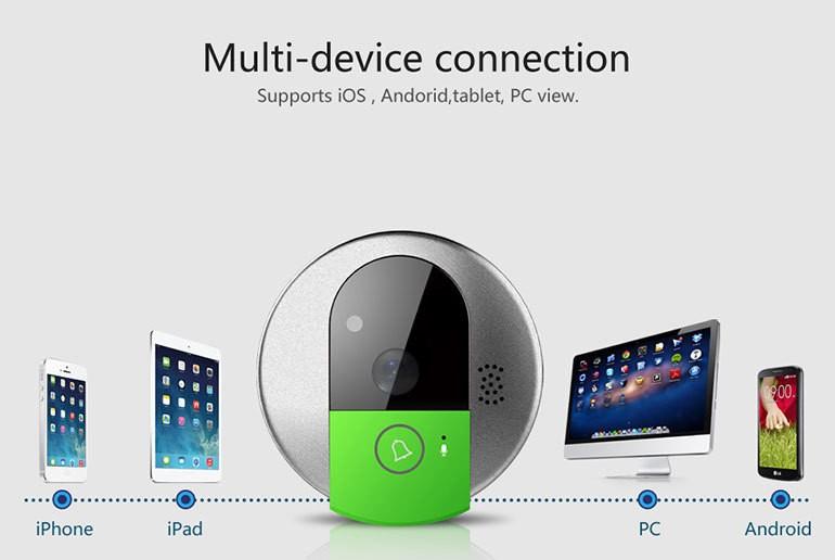 Vstarcam C95 Hd Wifi Smart Video Wifi Doorbell Camera 2016