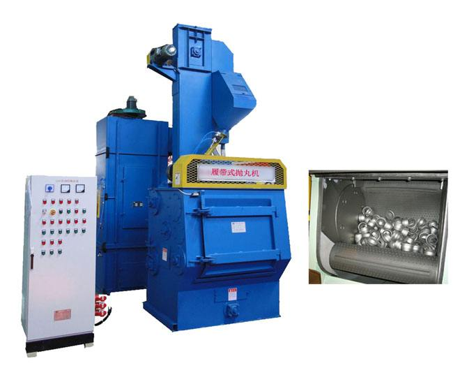 sand blasting machines/shot polishing machines