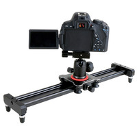 40cm Smartphone Video Stabilizer Rail Aluminum Alloy Track Slider for Movie Film Video Making