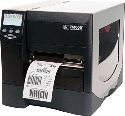 "Zebra ZM600-2001-0100T Direct Thermal/Thermal Transfer Desktop Label Printer, 203 DPI, 6"" Print Width, 10""/sec Print Speed, With 10/100 Ethernet Connection"