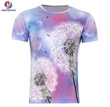 100% polyester t shirt Wholesale custom own t-shirt with company logo t-shirt printing machine