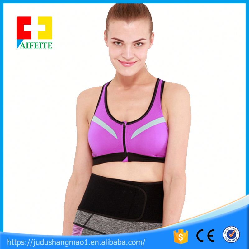 best slimming equipment hot slim belt body wraps waist support brace / waist trimmer