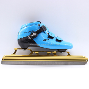 High Professional Factory Short Track Championship Ice Speed Skates Shoes Carbon Fiber Speed Inline Skates for sale