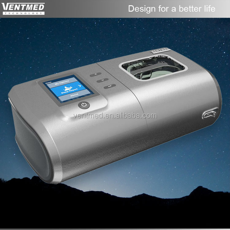 Auto cpap for sleep apnea with humidifier and mask