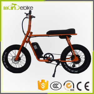 BaFang G06 hub motor 48v city electric fat bike 500w