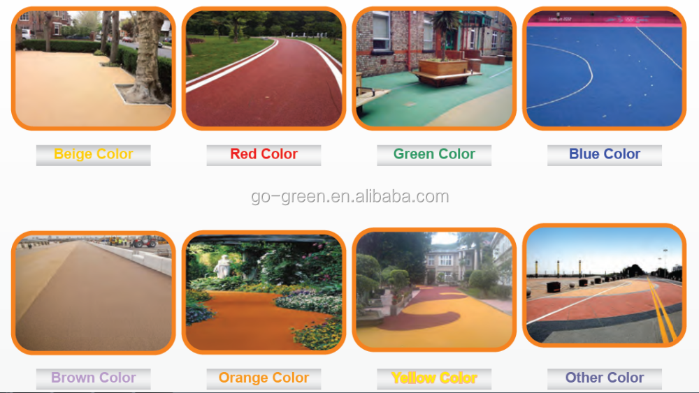 Colorful powder inorganic pigment iron oxide asphalt pigment