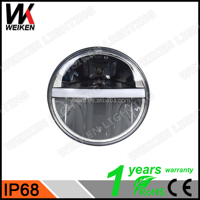 WEIKEN Car & Motorcycle Led Projector Headlight 78W High Low Beam for 10V-30V Xenon Light