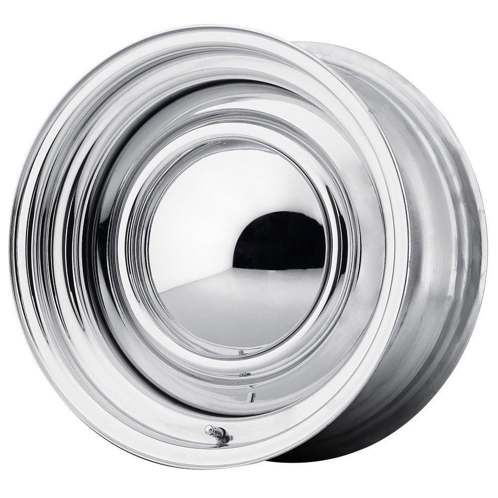 15 Inch 15x8 American Racing wheels wheels SMOOTHIE Chrome STEEL wheels rims