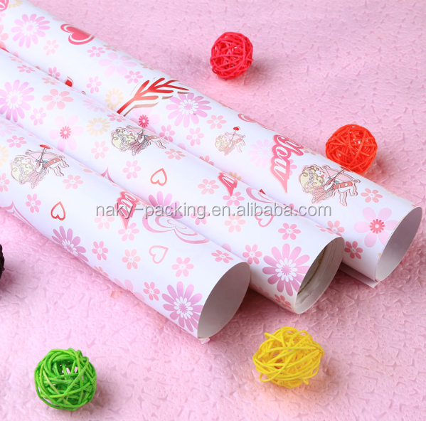 Buying wrapping paper in bulk