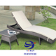 New Outdoor Wicker Day Bed Sun Lounge Pool Deck PE Rattan Furniture Setting Bali