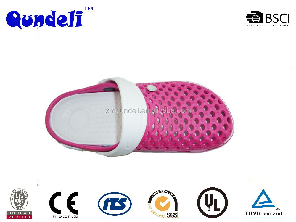 2017 New design mould custom blue unixe eva garden clogs