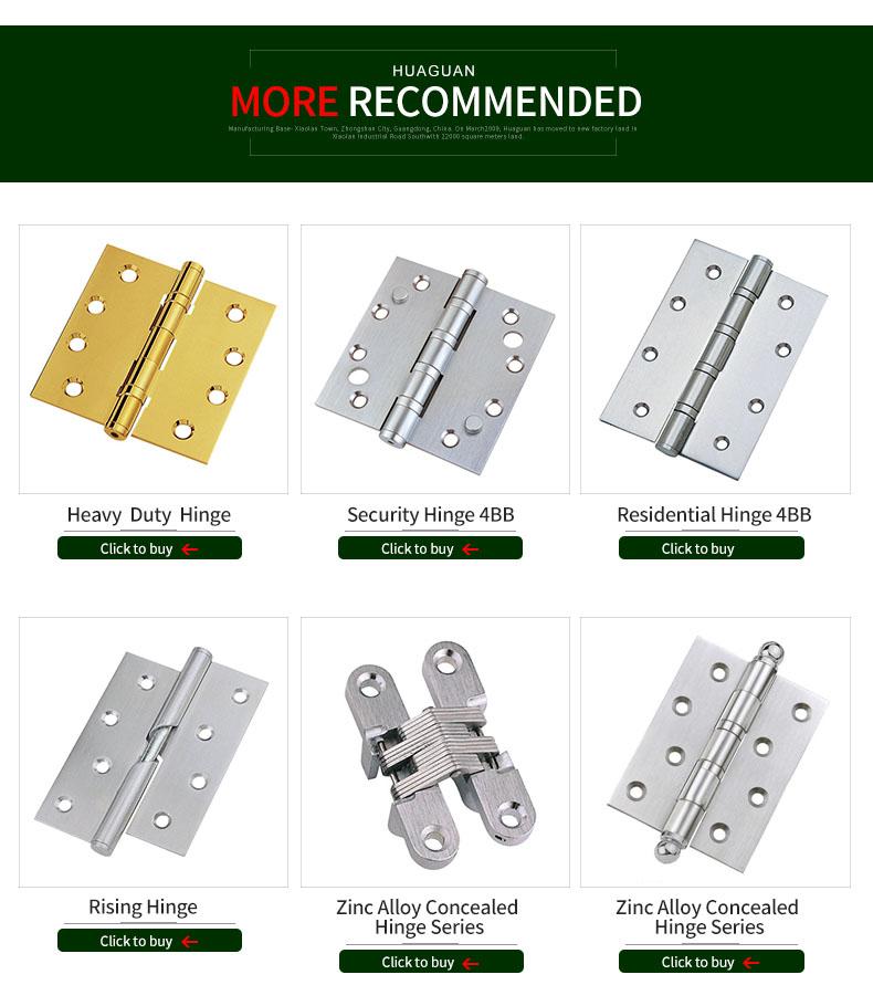 Special design Heavy duty Zinc Alloy 3D Concealed Hinge for Door