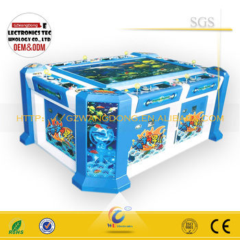 2015 Hot Sale Shooting Fish Table Game Chinese Table Game