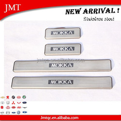 2015 New Arrival!LED door sill plate for skoda MOKKA