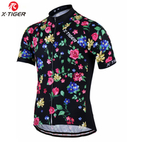 X-TIGER 2018 Pro Cycling Jersey Short Sleeve Bicycle Clothing Cycling Clothing