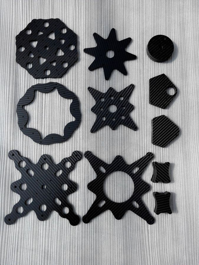 cnc cutting carbon fiber plate
