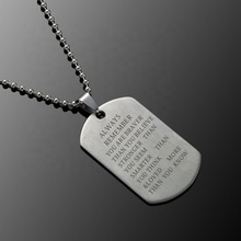 Stainless steel 쇄 necklaces 망 <span class=keywords><strong>개</strong></span> hl 태그와 army 펜 던 트 necklace 패션 custom 늘 loved 키 체인 best friend 보석