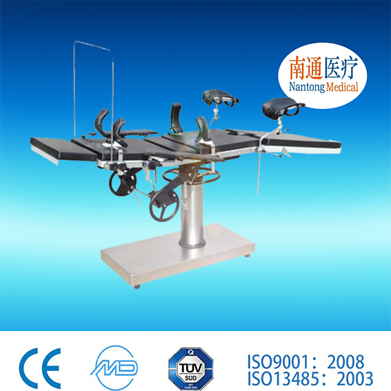 Big promotion! Nantong Medical manual hydraulic surgery table ultrasound table with great price