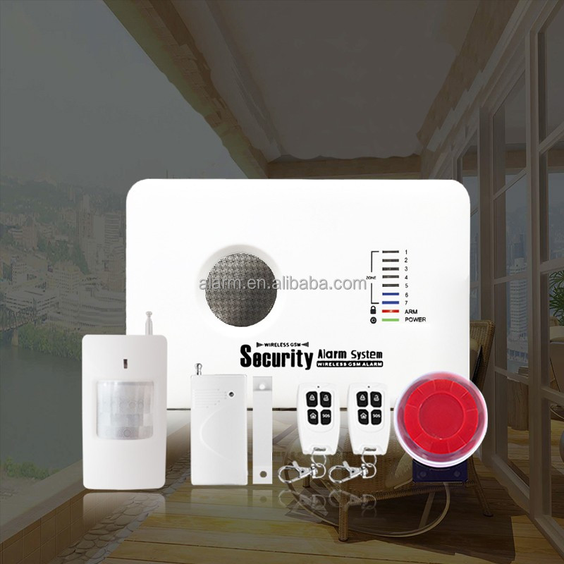 install good household alarm systems , home wireless alarm gsm ZG10A