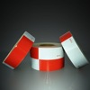 Economical Reflective Tape, FMVSS 108, Red White Alternating HI-INT-180012