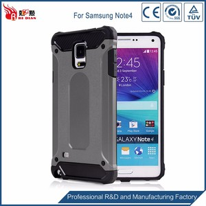 Best praise customized back cover for galaxy note 4