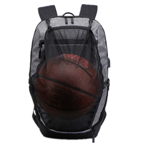 Osgoodway Functional Student Backpack School Bags Reflective Sport Basketball Laptop Backpack with USB Charger