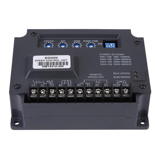 EG2000 Electronic Engine Speed Governor Controller Generator Controller Panel
