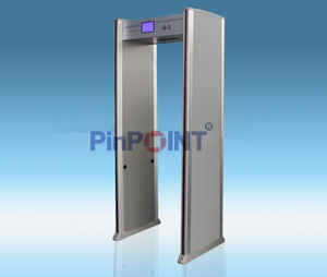 Electronic Door Type Metal Detector Gate With18 Detecting Zones good performance walk through gate PD-5000