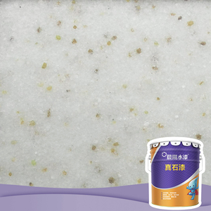 Wholesale exterior natural stone texture look spray paint for outdoors