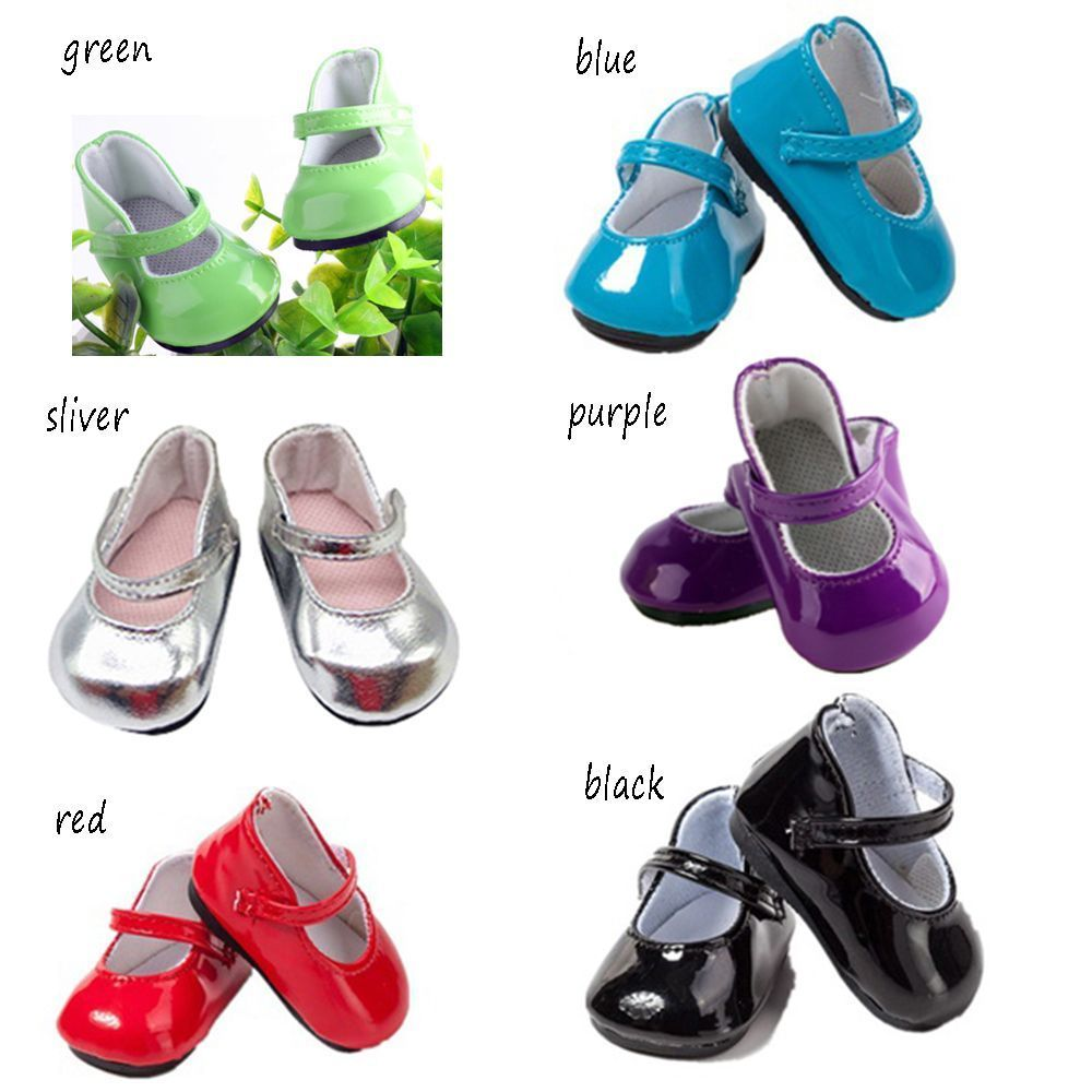 """Doll Shoes for 18/"""" Reborn Baby Dolls Cute Tiny Accessory Shoes for Newborn Doll"""