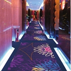 simple design 100% solution dyed Nylon Printed floor broadloom cinema carpet