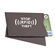 RFID Blocking Credit Card Secure Sleeve Protector Shields for ID / Payment Card