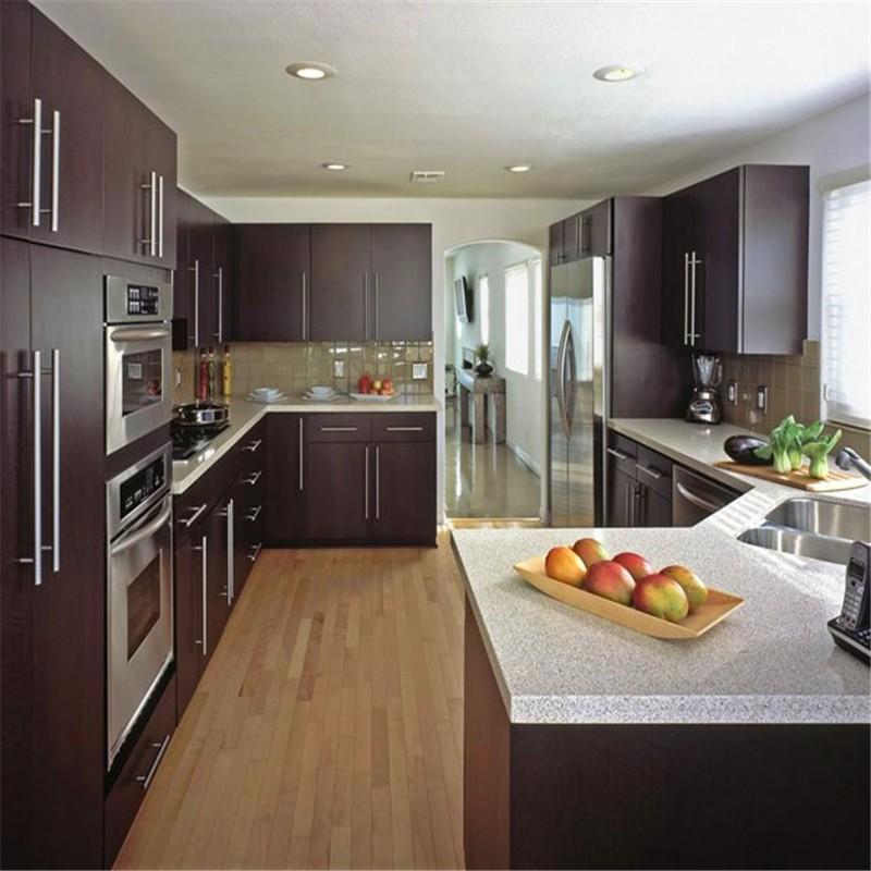 Modernes Design Holz Küchenschränke Preise-Wandschrank