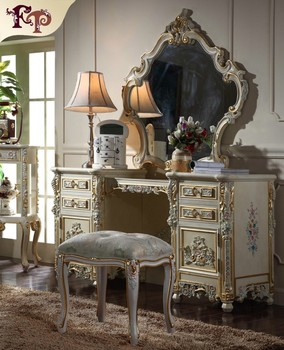 Palace Royal Furniture European Classical Dressing Table