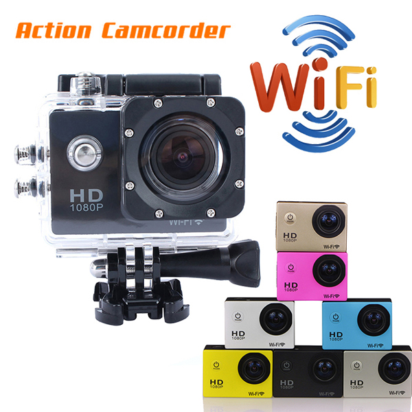Manufacturer SJ4000 action cam diving 30m waterproof 1080p full hd remote control 170degrees fish angle