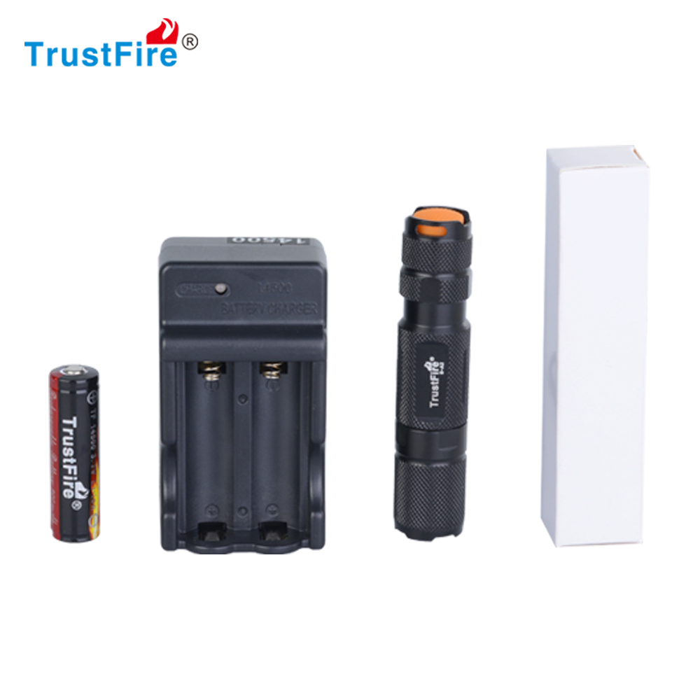 TrustFire S-A2 200Lumens Wholesale AA Battery Led Mini Flashlight Torch With CE ROHS and FCC Certificates