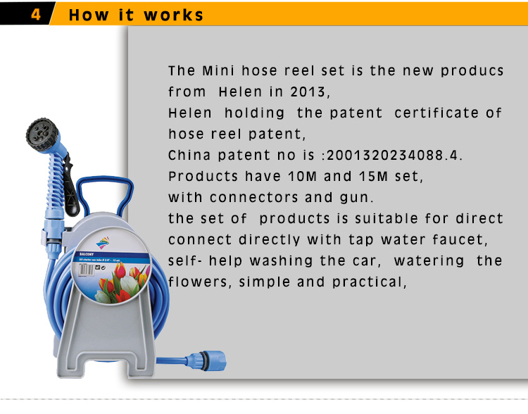 Stretch hose patent