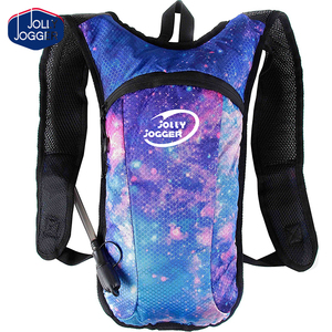 Hydration Pack Backpack - 2L Water Bladder included for festivals, raves, hiking, biking, climbing, running