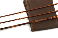 chinese 100% hand made bamboo fly fishing rod