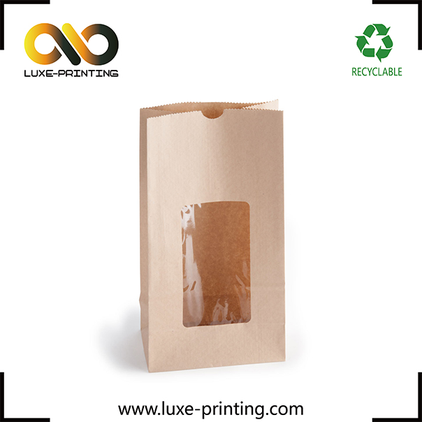 Clear Window Paper Bag Supplieranufacturers At Alibaba