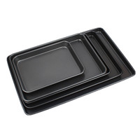 custom 60 40 food grade rectangular tray Full Sheet Pans oven pan set for food for meat