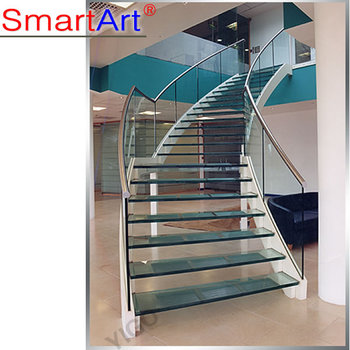 Stair Railing Details/curved Stair Stringers