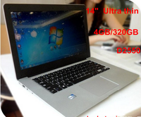 2016 promotion 14 inch Intel Atom D2500 Laptop With DVD-RW Bluetooth
