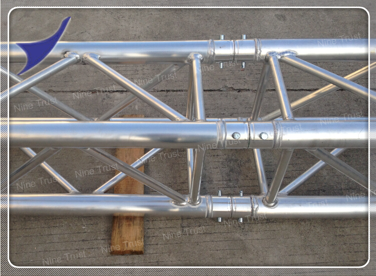 Nine trust aluminum truss lighting steel roof truss system for Buy trusses